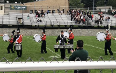 TAHS Marching Band Hosts Successful Home Show