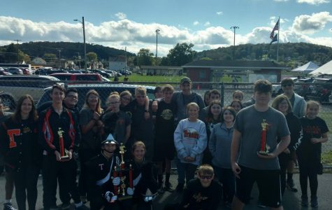 TAHS Marching Band Takes First at Brockway