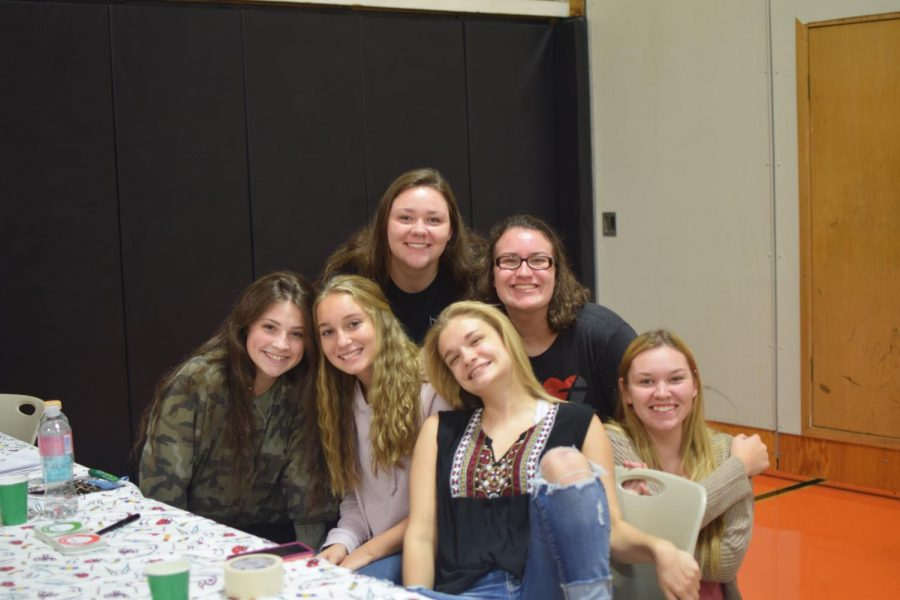 Brianna+Decker%2C+Taylor+Greene%2C+Paige+Kephart%2C+Haile+Walk%2C+Elise+Gailey%2C+Maddie+Diebold