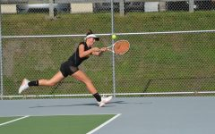 Tennis Tackles Talented Grier, Comes Out on Top
