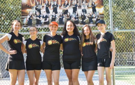 Ladies Tennis Downed on Senior Night by Talented Windber