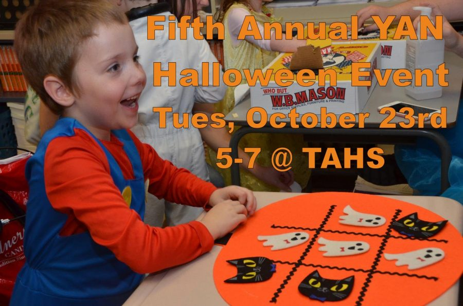 Fifth Annual Halloween YAN Event Scheduled for October 23rd
