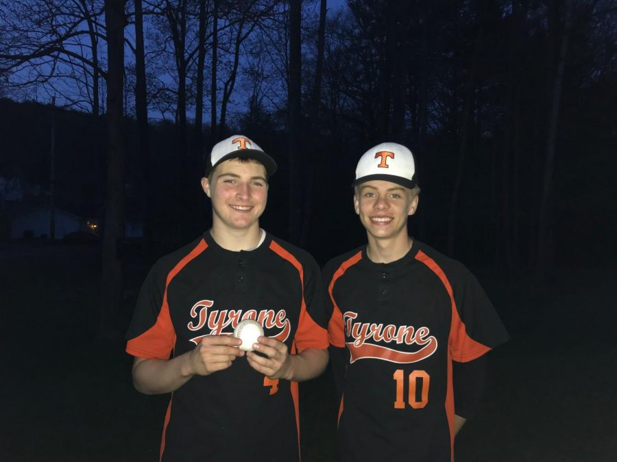Lucas+and+Shultz+have+played+baseball+together+for+years
