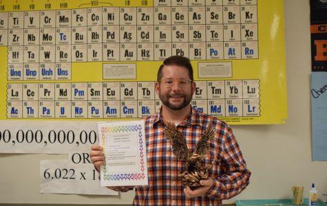 'Be Golden' Staff Award Winner: Michael Funicelli