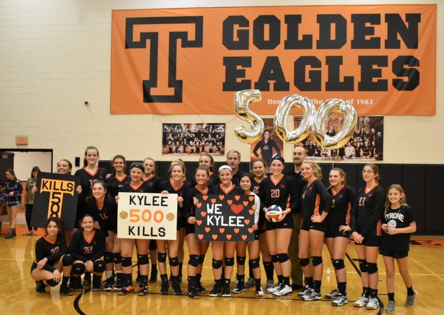 Good Kill: Senior Kylee Gooding Reaches 500 Career Kills