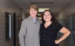 Gampe and McNeel Serve as Student School Board Representatives