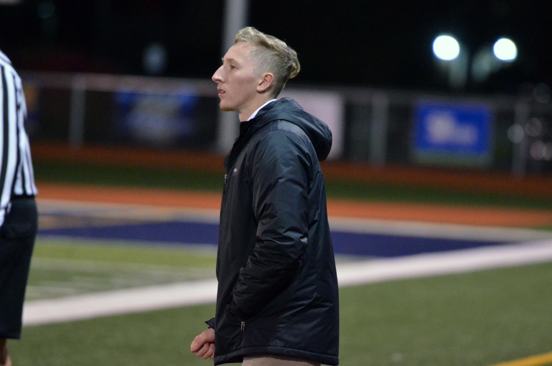 New head coach Alex Bartlett.