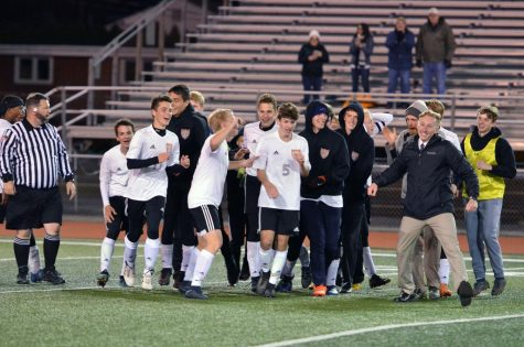 Boys Soccer Bests PO in OT