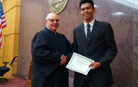Tyrone Senior Attends National Latino Leaders Law Camp