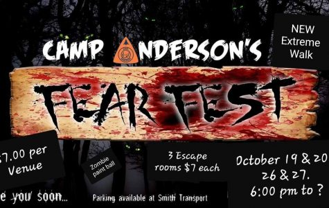Camp Anderson Fear Fest Looking for Volunteers