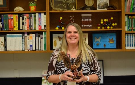 'Be Golden' Staff Award Winner: Mrs. Beth Cannistraci