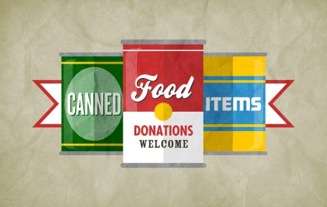Student Council Food Drive Kicks Off on November 7