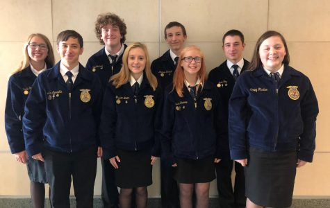Tyrone Area FFA Members Attend 91st National FFA Convention