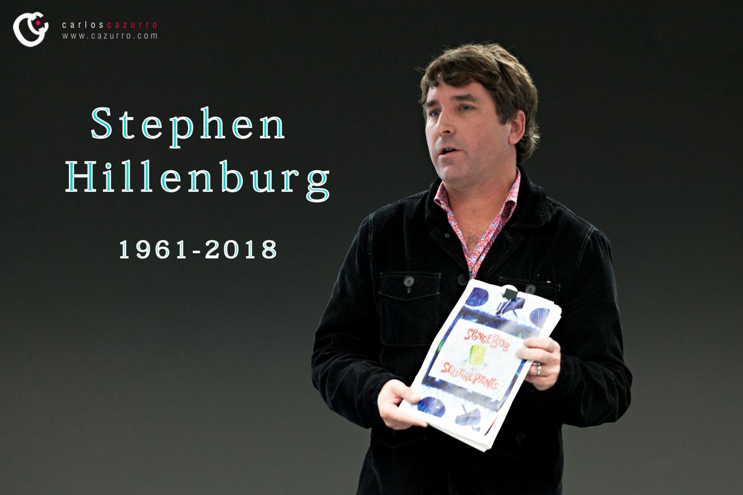 Stephen Hillenburg, the creator of Spongebob, passed away recently.
