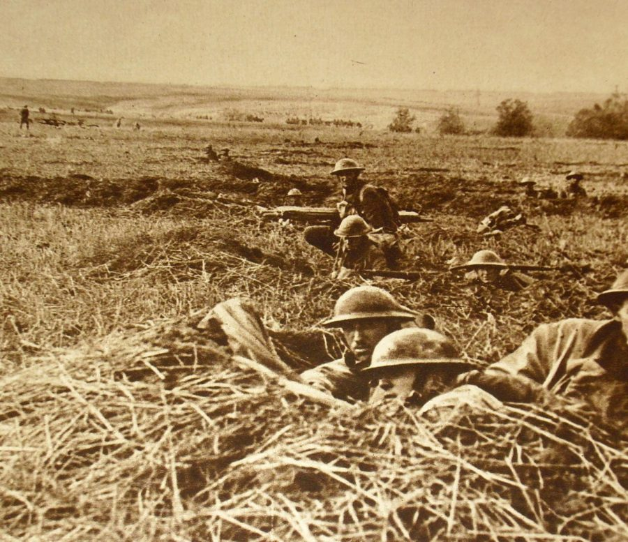 US Troops. Photo by Moore, William E.; Russell, James C.