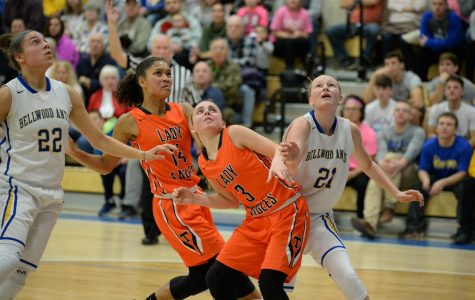 Lady Eagles Start Slow Ends in Loss