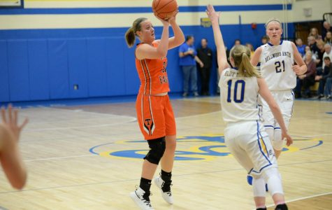 Lady Eagles Backyard Brawl Upset Effort Falls Short
