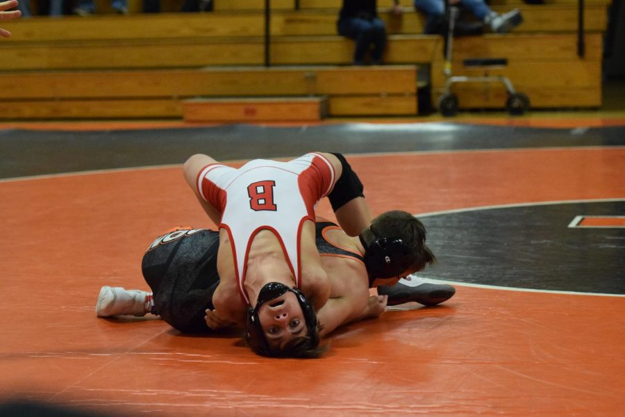 Tyrone Wrestlers Open Season with Close Loss to Bellefonte