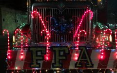 Tyrone FFA Float Brings Cheer to Annual Tyrone Christmas Parade