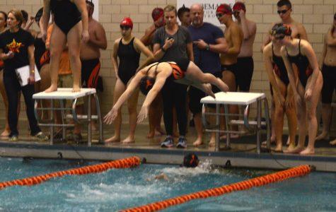 Swim Team Opens Season with Double Win