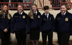 Five Receive FFA Jackets