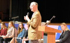 Representatives of Nobel Peace Prize Winner Visit Tyrone; Thank Students for Years of Support