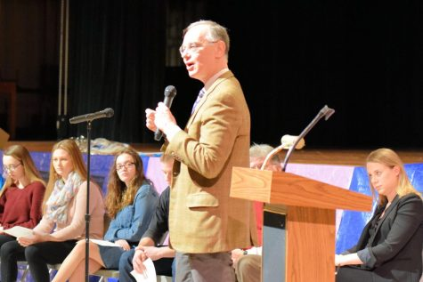 Rwandan Genocide Witness Carl Wilkens Speaks at TAHS