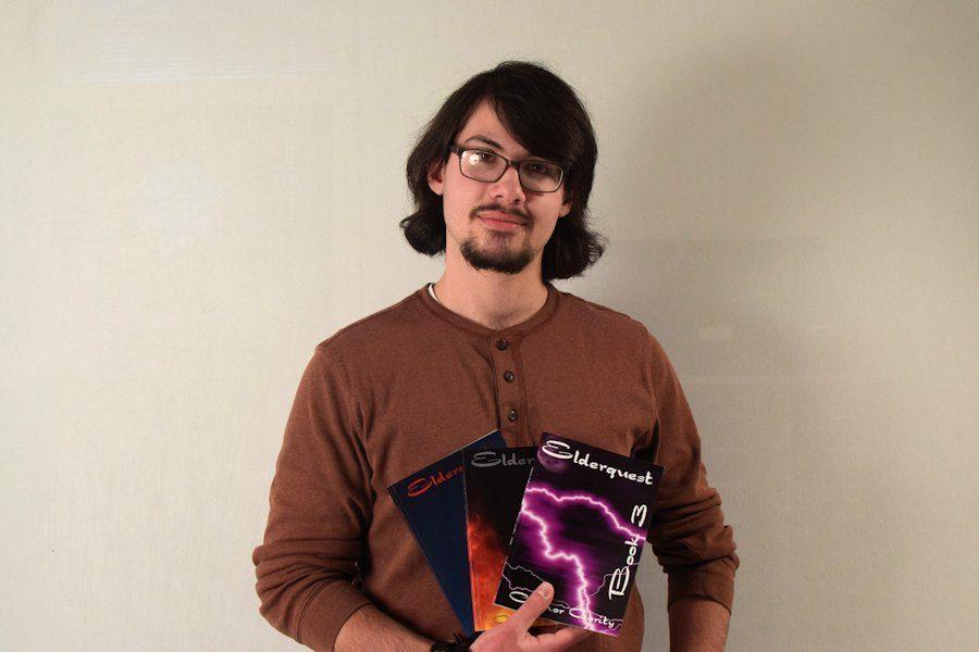 TAHS Senior Completes Trilogy of Novels