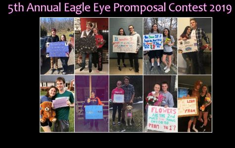 Fifth Annual Eagle Eye Promposal Contest