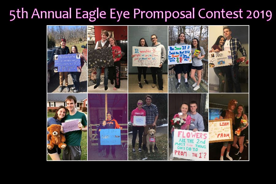 Promposal pictures from the 2018 Fourth Annual Promposal Contest.