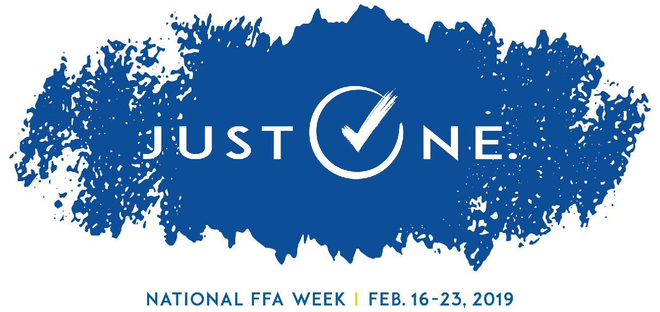 The National FFA week logo for this years theme.