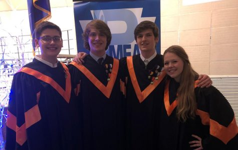 Four Tyrone Students Qualify for Regional Chorus