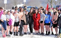 Tyrone Students Take the Plunge for Special Olympics