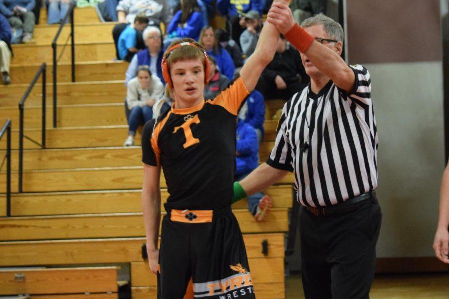 Mason Walls won his match.