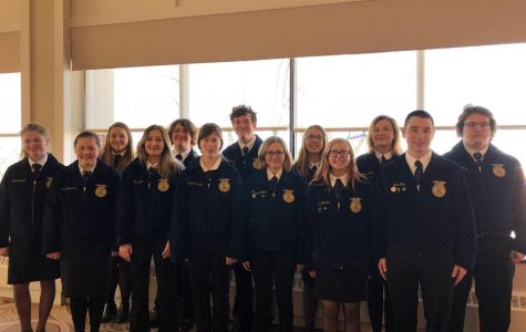 Local FFA Members Attend State Conference