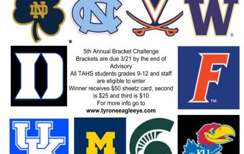 Enter the 5th Annual Eagle Eye March Madness Bracket Challenge