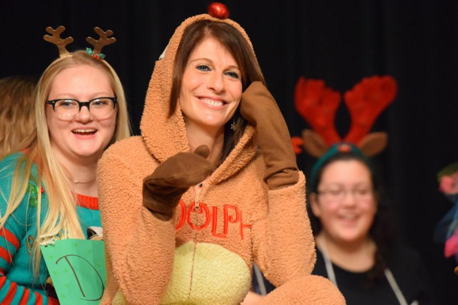 Golden Revolution helped to plan the Christmas Assembly