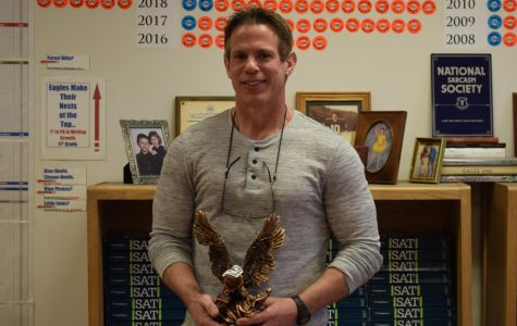 'Be Golden' Teacher of the Week: Mr. Steve Everhart