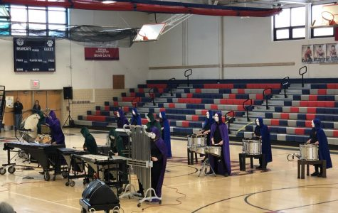 Tyrone Indoor Percussion Takes First at Huntingdon