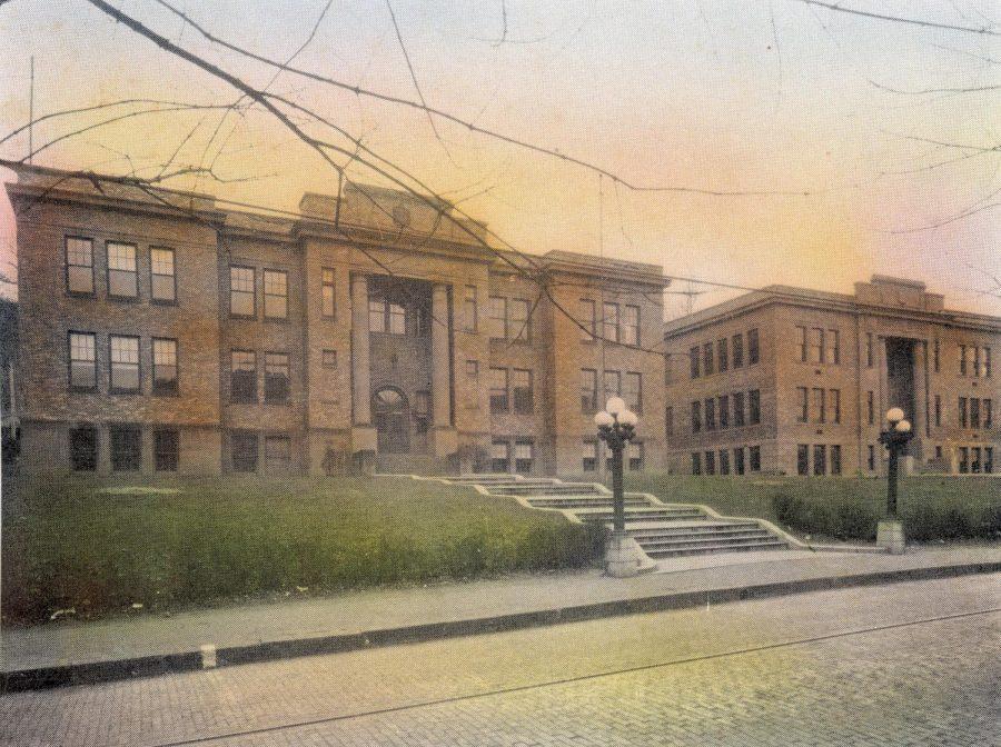Tyrone High School on Lincoln Avenue.
