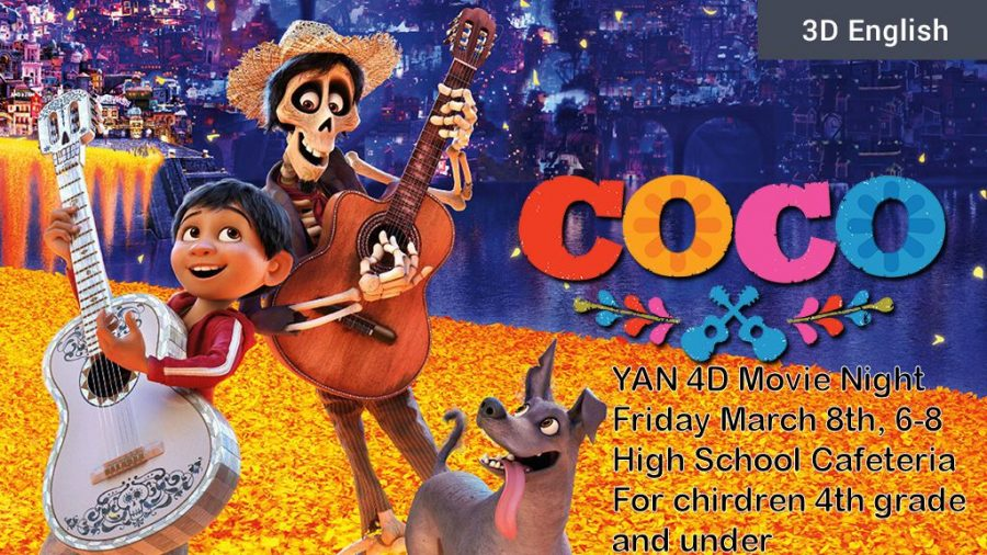 Fifth Annual YAN 4D Movie Event This Friday March 8th