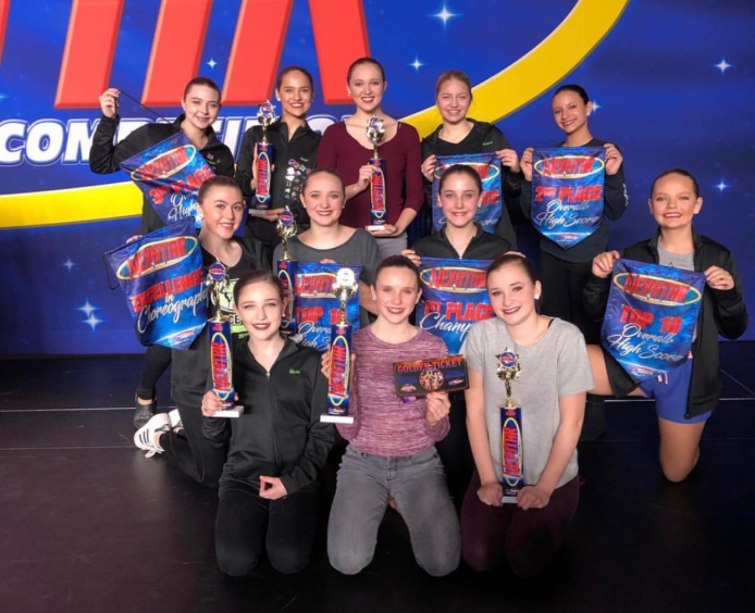 Dance Fusion Has Successful Competition Weekend