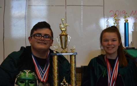 Tyrone Indoor Percussion Places First at Chapters
