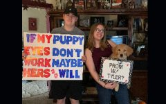 Eagle Eye Promposal Contest: A Puppy Eyes Promposal