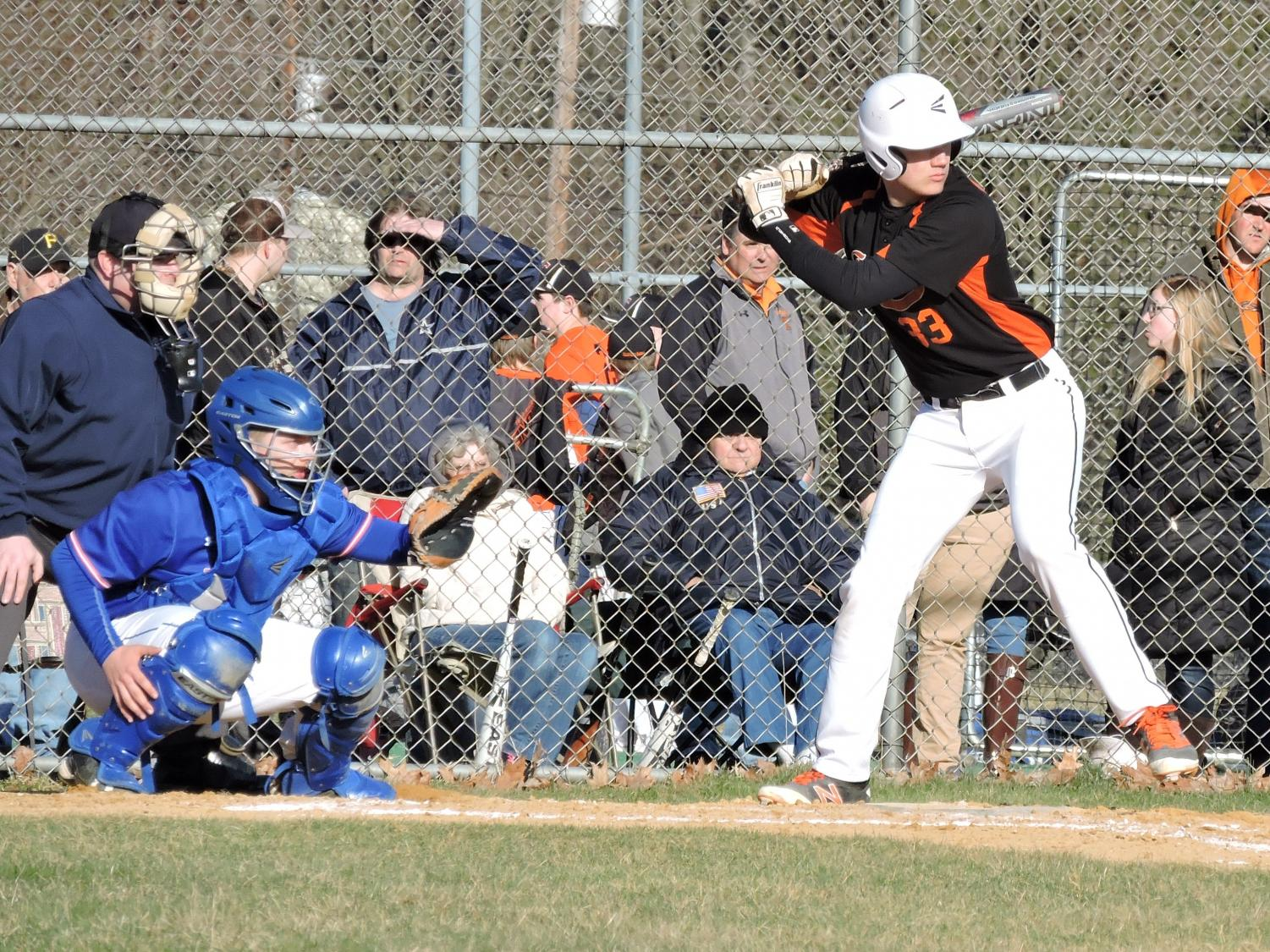 Cory Lehman has been a key contributor for the Tyrone varsity baseball team for four years.
