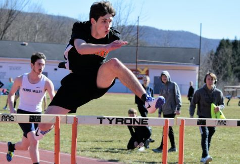 Tyrone Track and Field Sweeps West Branch