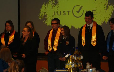 Tyrone FFA Holds its 81st Annual Awards Banquet