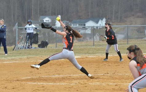 Lady Eagles Beat Clearfield on Two Hits