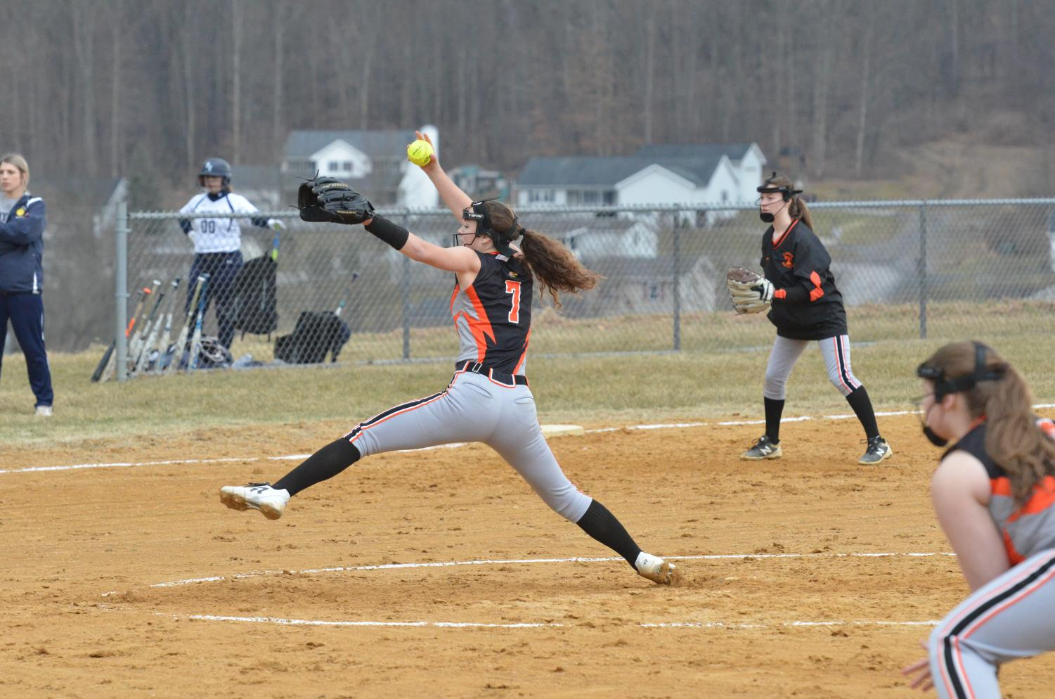 Cate Baran throws another great pitch.
