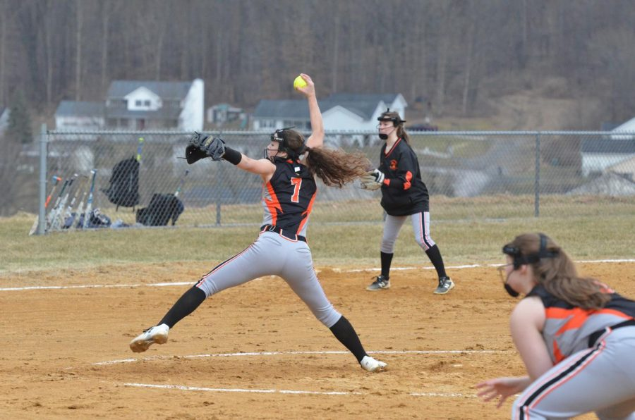 Tyrone Softball Defeats Penns Valley